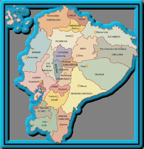 Provincias Del Ecuador Y Sus Capitales 2020