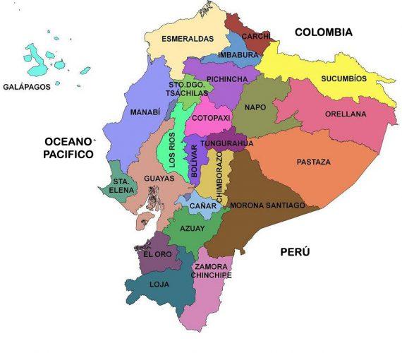 provincias de ecuador
