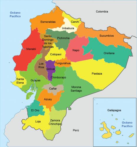 las provincias del ecuador