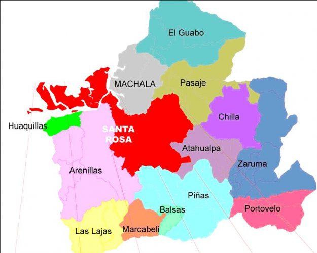 cantones de El Oro