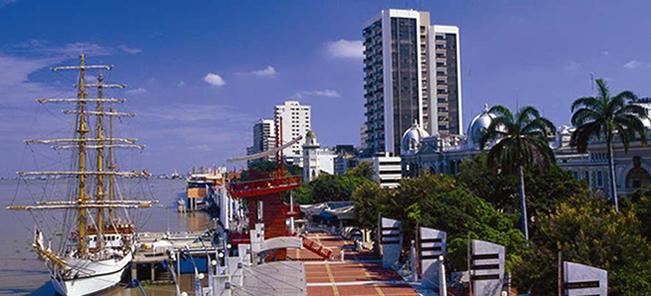 Provincia de Guayas con su capital Guayaquil