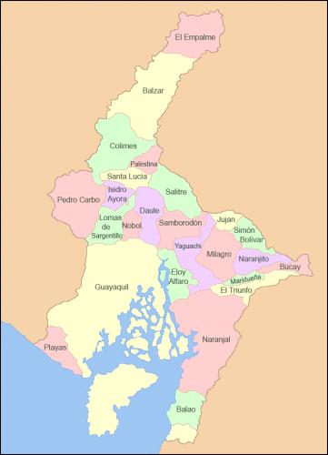 cantones guayas ecuador